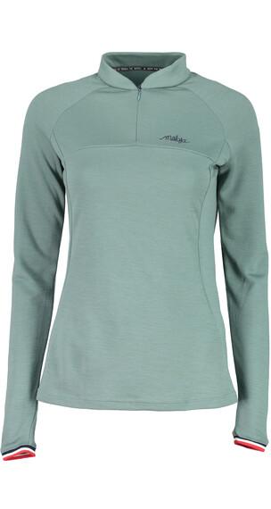 Maloja W's SouthportM. Longsleeve Multisport Jersey Dark mint